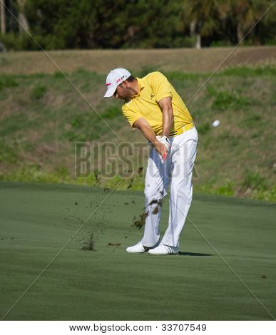 PONTE VEDRA BEACH, FL-MAY 09: Sergio Garcia at The Players Championship, PGA Tour, on practice day May 09, 2012 at The TPC Sawgrass, Ponte Vedra Beach, Florida, USA.