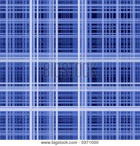 Blue colors grid pattern abstract background image. poster