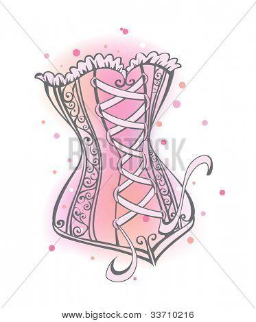 Cute corset