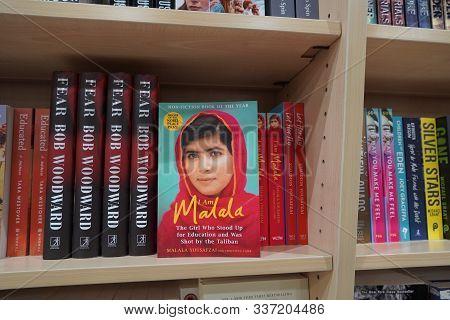 Dubai Uae December 2019 Book Of Malala Yousafzai Pakistani Activist For Female Education And The You