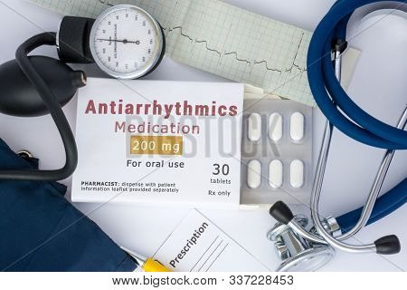 Antiarrhythmic Drug For Treatment Or Suppress Abnormal Rhythm Of Heart, For Prevention Or Prophylaxi