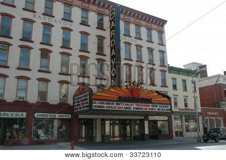 Bardavon theatre theater Poughkeepsie, NY