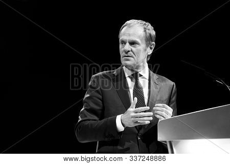 Donald Tusk During Epp Congress In Zagreb