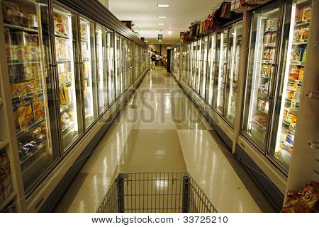Frozen Food Section