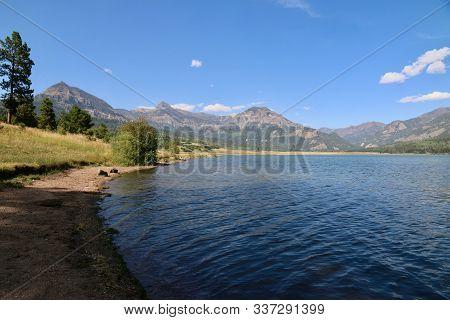 William Creek Reservoir In Pagosa Springs In Colorado