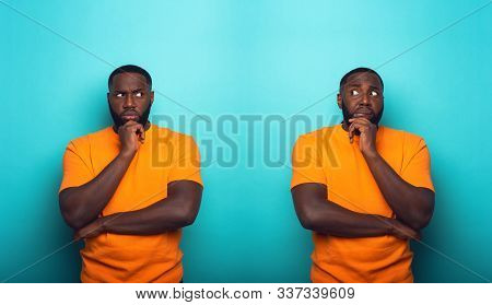 Black Man With Feelings Of Guilt Is In Doubt Whit Himself