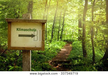 Climate Protection - Klimaschutz (in German Language)