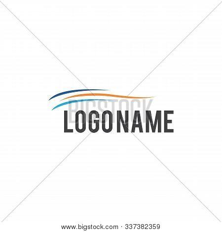 Water Wave Abstract Circle Logo Design. Spiral Logo Design. Vector Abstract Circle Spiral Logo Desig