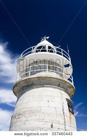 Lighthouse In Atlantic Islands National Park,