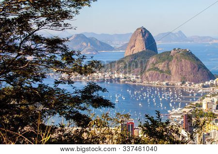 View from Sugar Loaf Mountain in Rio de Janeiro