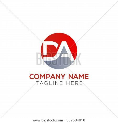 Initial Da Letter Logo With Creative Modern Business Typography Vector Template. Creative Abstract L