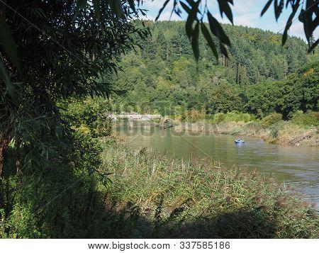River Wye In Tintern