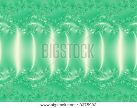 Light-Green Fractal Background