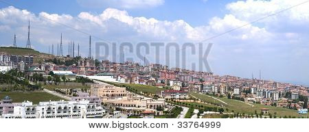 Ankara Hillside Panorama