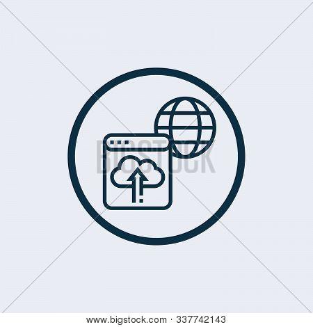 Backup Icon Isolated On White Background. Backup Icon Simple Sign. Backup Icon Trendy And Modern Sym