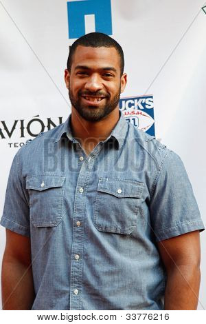 NEW YORK-MAY 31: New York Giants Spencer Paysinger attends the 4th annual Tuck�s Celebrity Billiards Tournament on May 31, 2012 in New York City.