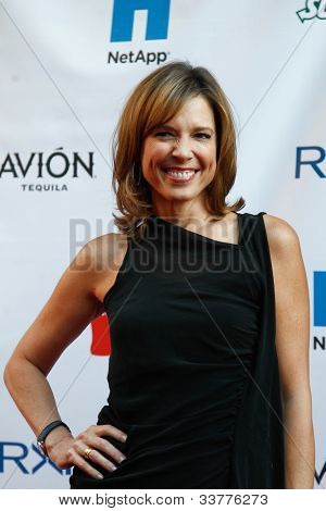 NEW YORK-MAY 31: ESPN personality Hannah Storm attends the 4th annual Tuck�s Celebrity Billiards Tournament on May 31, 2012 in New York City.