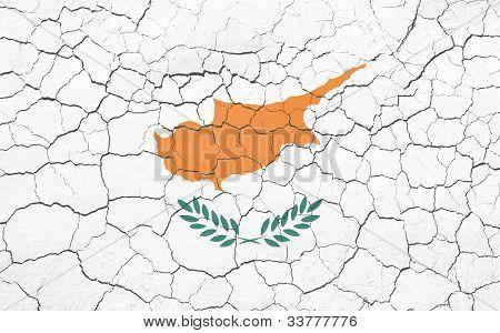Cracking Cyprus Flag