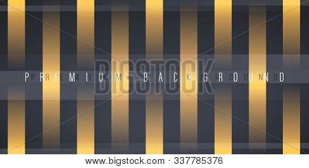 Minimalist Black Premium Abstract Background. Premium Design. Luxury Style.  Decorating In Pattern O