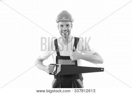 Sharp And Effective. Repair Service. Repair And Renovation Concept. Handyman Home Repair. Repairing