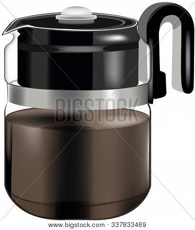 Black Thermal Carafe For American Coffee Black Thermal Carafe For American Coffee