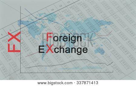 Acronym Fx - Foreign Exchange - Business, Finance