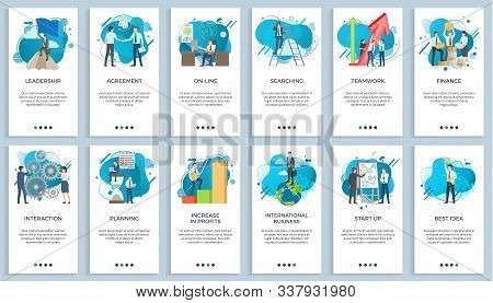 International Business Vector, Startup Businessman Do Presentation Of Board Best Idea And Solution O