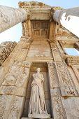 Personification of Wisdom Statue in Ephesus Ancient City, Selcuk Town, Izmir, Turkey poster