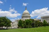 US Capitol Building in Washington DC United States poster