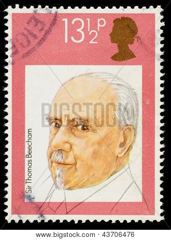 Britain Sir Thomas Beecham Postage Stamp