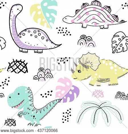 Cute Dinosaur Patterns-