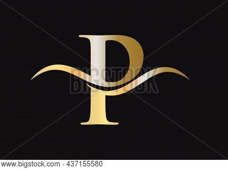 P Logo For Luxury Branding. Elegant And Stylish P Logo Design For Your Company. P Letter Logo