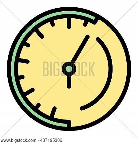 Watch Repair Parts Icon. Outline Watch Repair Parts Vector Icon Color Flat Isolated