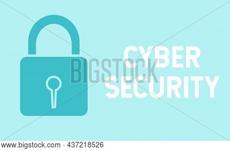Internet Security Poster Concept.traffic Encryption, Vpn, Privacy Protection Antivirus Hack