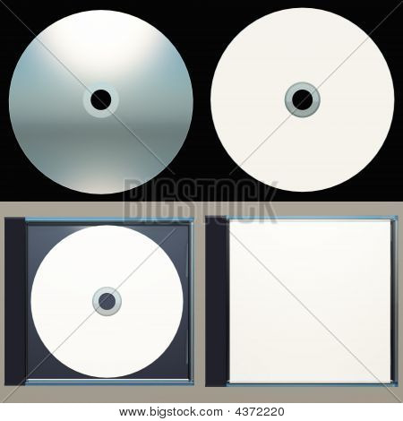 Packaging Design-cd And Cd Case