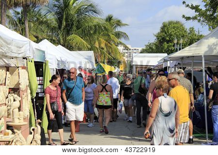 Craft Festival In Lauderdale By The Sea, Florida