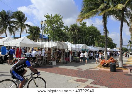 Lauderdale By The Sea, Florida, Craft Festival