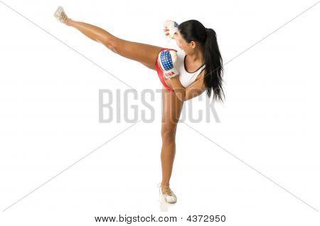 Kick Boxing Woman