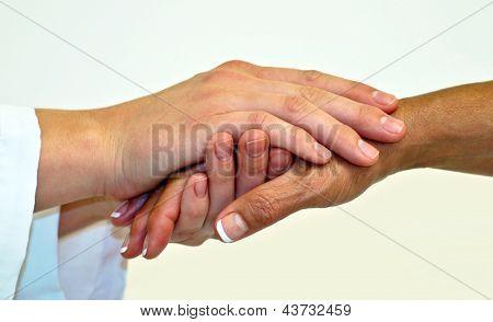 Mitfühlende Hände