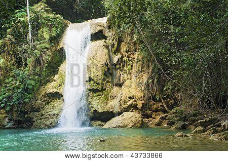 Limon Waterfall, Dominican Republic