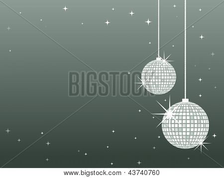 Christmas Baubles - Silver