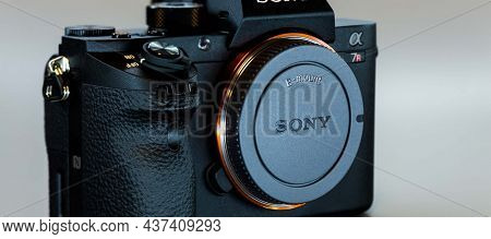 19. 12. 2015, BERLIN, GERMANY, Sony Alpha a7R II ILCE-7RM2 Mirrorless Digital Camera (Body Only) without lens.