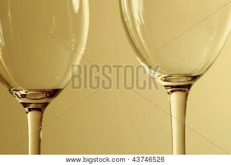 Zwei Gläser Wein,