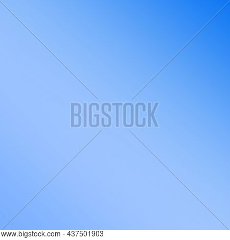 Abstract Background,blue-white Gradient . Square Orientation. Color Transition.