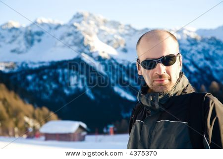 Man In The Mountains