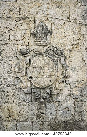 Coral Block Wall Loboc Church