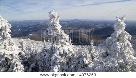 Winter  Panoramic Of  Mountains 01 All