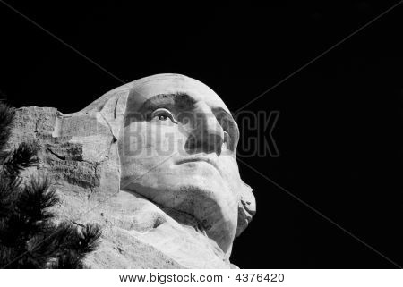 George Washington On Mt Rushmore