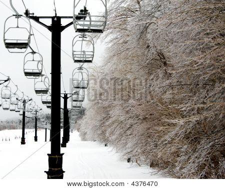 Winter  Chair Lift 01 4Mp