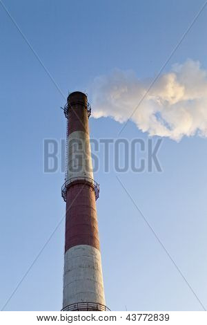 Power Plant Pipe